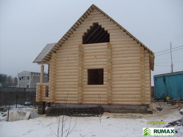 Image 5 of 8 дом из оцилиндрованного